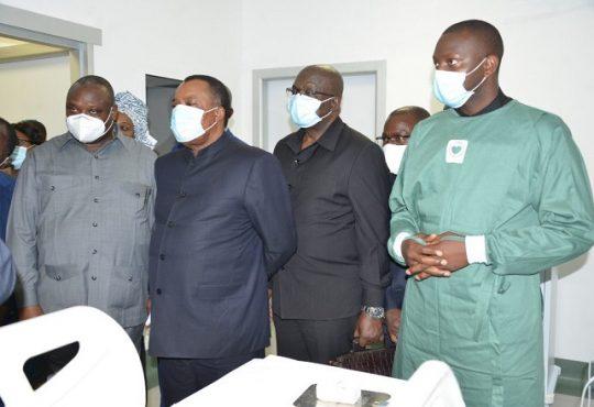 Congo/Sante: Le Président Denis Sassou-N'Guesso visite l'hôpital général de Nkombo