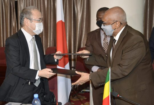 Le Japonoctroie 6,5 milliards de Fcfa au Mali